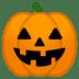 🎃 Lanterna de Abóbora Emoji na Plataforma Google