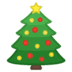 🎄 Christmas tree Emoji on Google Platform