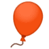 🎈 balloon Emoji on Google Platform