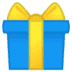 🎁 wrapped gift Emoji on Google Platform