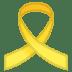 🎗️ reminder ribbon Emoji on Google Platform
