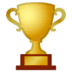 🏆 trophy Emoji on Google Platform