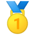 🥇 1st place medal Emoji on Google Platform