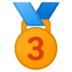 🥉 3rd place medal Emoji on Google Platform