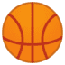 🏀 basketball Emoji on Google Platform