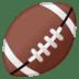 🏈 american football Emoji on Google Platform