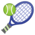 🎾 tennis Emoji on Google Platform