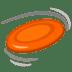 🥏 flying disc Emoji on Google Platform