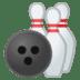 🎳 bowling Emoji on Google Platform