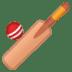 🏏 cricket game Emoji on Google Platform