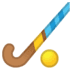 🏑 field hockey Emoji on Google Platform
