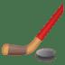 🏒 ice hockey Emoji on Google Platform