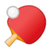 🏓 ping pong Emoji on Google Platform
