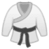 🥋 martial arts uniform Emoji on Google Platform