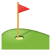 ⛳ flag in hole Emoji on Google Platform