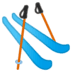 🎿 skis Emoji on Google Platform
