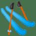 🎿 skis Emoji on Google Platform