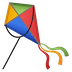 🪁 kite Emoji on Google Platform