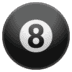 🎱 pool 8 ball Emoji on Google Platform