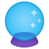 🔮 crystal ball Emoji on Google Platform