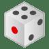 🎲 game die Emoji on Google Platform