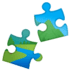 🧩 puzzle piece Emoji on Google Platform