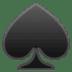 ♠️ spade suit Emoji on Google Platform