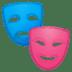 🎭 performing arts Emoji on Google Platform