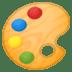 🎨 artist palette Emoji on Google Platform