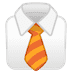 👔 necktie Emoji on Google Platform