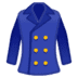 🧥 coat Emoji on Google Platform