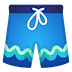 🩳 shorts Emoji on Google Platform