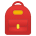 🎒 Backpack Emoji on Google Platform