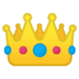 👑 crown Emoji on Google Platform