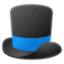 🎩 top hat Emoji on Google Platform