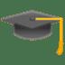 🎓 graduation cap Emoji on Google Platform