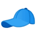 🧢 billed cap Emoji on Google Platform