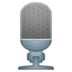 🎙️ Studio Microphone Emoji on Google Platform