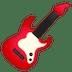 🎸 guitar Emoji on Google Platform