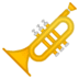 🎺 trumpet Emoji on Google Platform