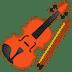 🎻 violin Emoji on Google Platform