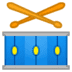 🥁 drum Emoji on Google Platform
