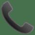 📞 telephone receiver Emoji on Google Platform