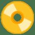 📀 DVD Emoji on Google Platform