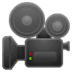 🎥 Movie Camera Emoji on Google Platform
