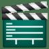 🎬 Clapper Board Emoji on Google Platform