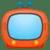 📺 テレビ Googleプラットフォーム上の絵文字