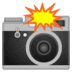 📸 camera with flash Emoji on Google Platform