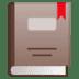 📕 closed book Emoji on Google Platform