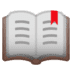 📖 open book Emoji on Google Platform